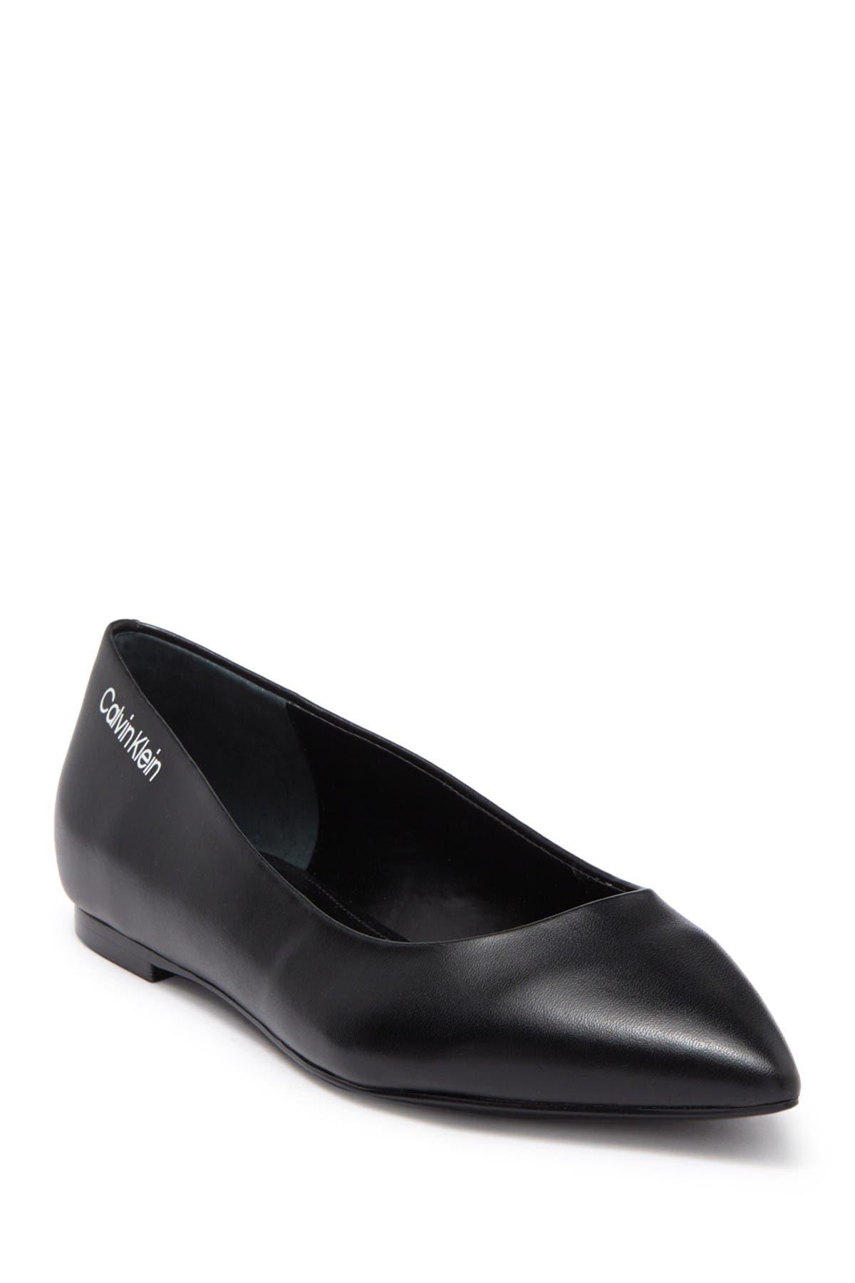 Image of Calvin Klein Aliyah Pointed Toe Flat