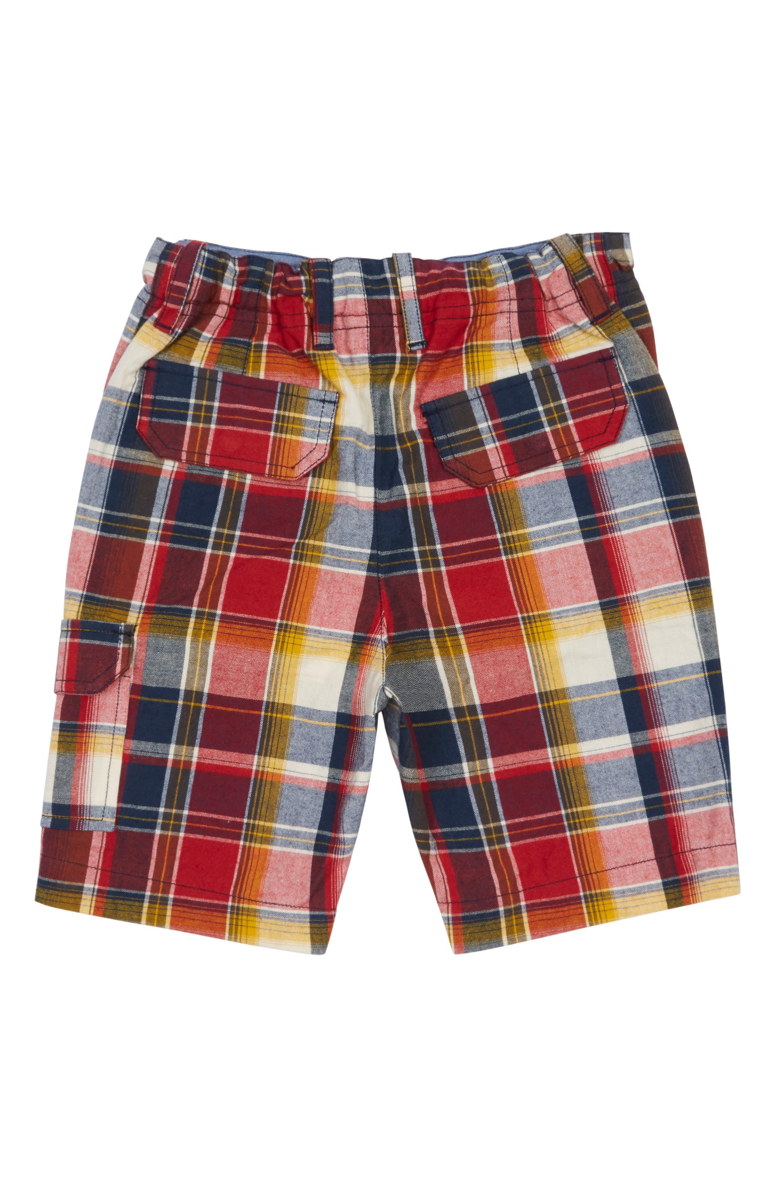 Peek Rocco Plaid Cargo Shorts