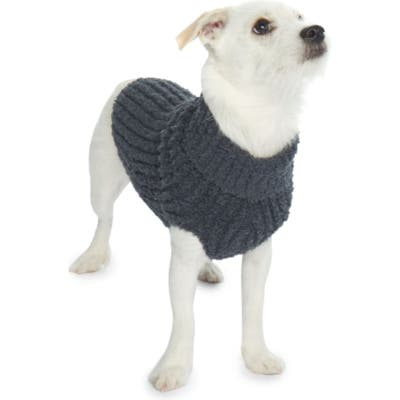 Barefoot Dreams Cozychic(TM) Ribbed Dog Sweater, Blue