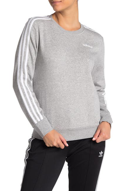 Image of adidas 3-Stripes Panel Crew Neck Sweatshirt