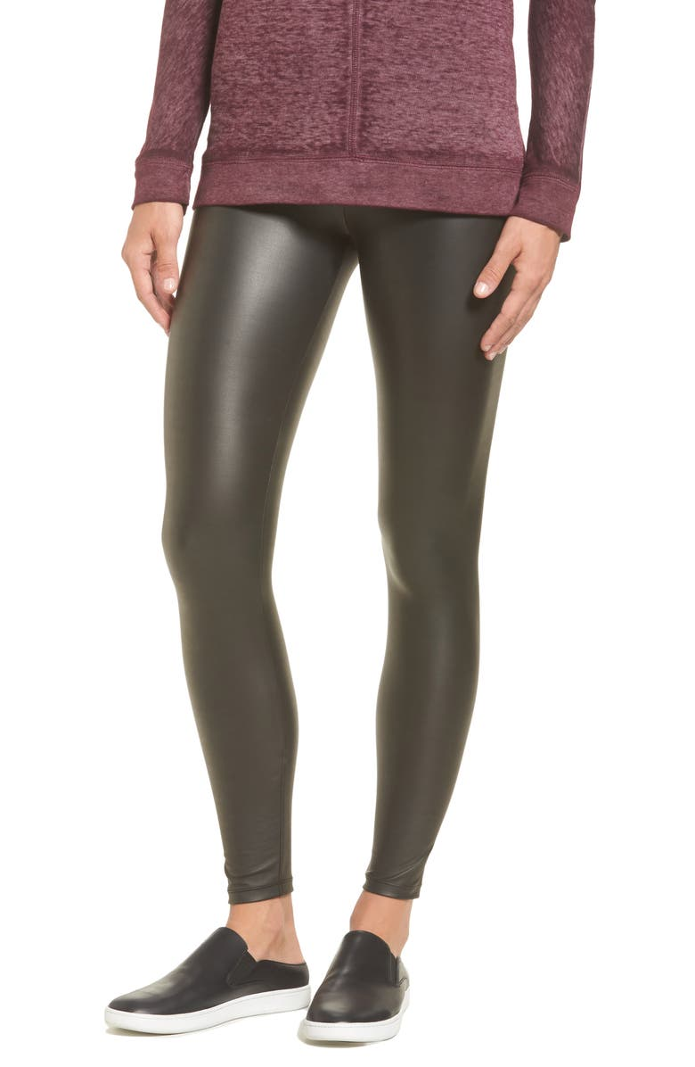 343146bf86d9f3 Yummie Tony Faux Leather Leggings | Nordstrom