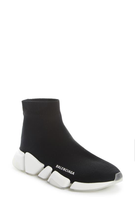 Balenciaga Sneakers SPEED 2.0 TRANSPARENT SOLE SOCK SNEAKER