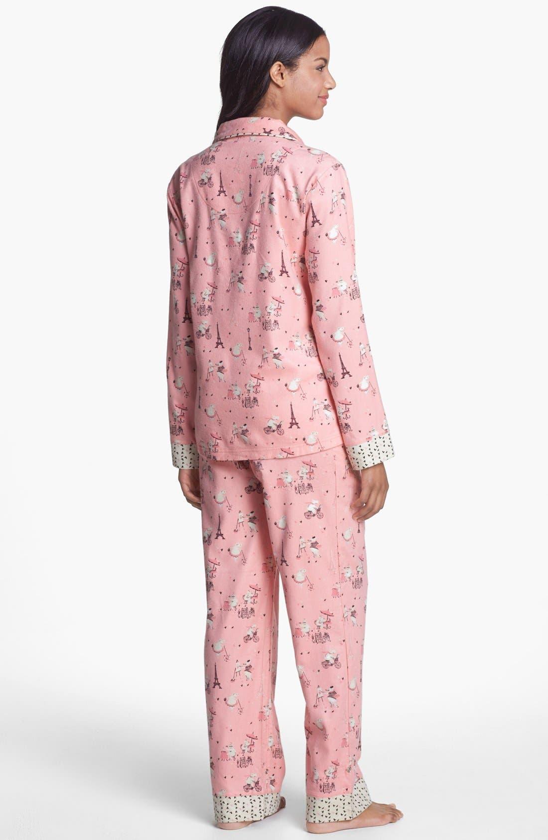 ,                             Flannel Pajamas,                             Alternate thumbnail 88, color,                             682