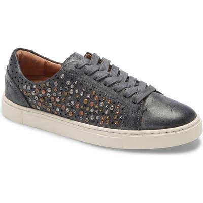 Frye Ivy Deco Stud Sneaker, Black