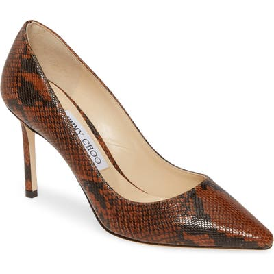 Jimmy Choo Romy Pump, Brown