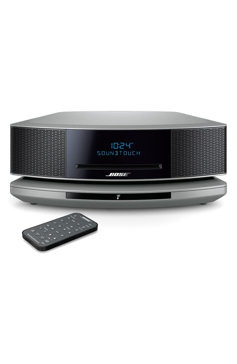 BOSE<SUP>®</SUP> Wave<sup>®</sup> SoundTouch<sup>®</sup> IV Wi-Fi<sup>®</sup> Music System, Main, color, SILVER