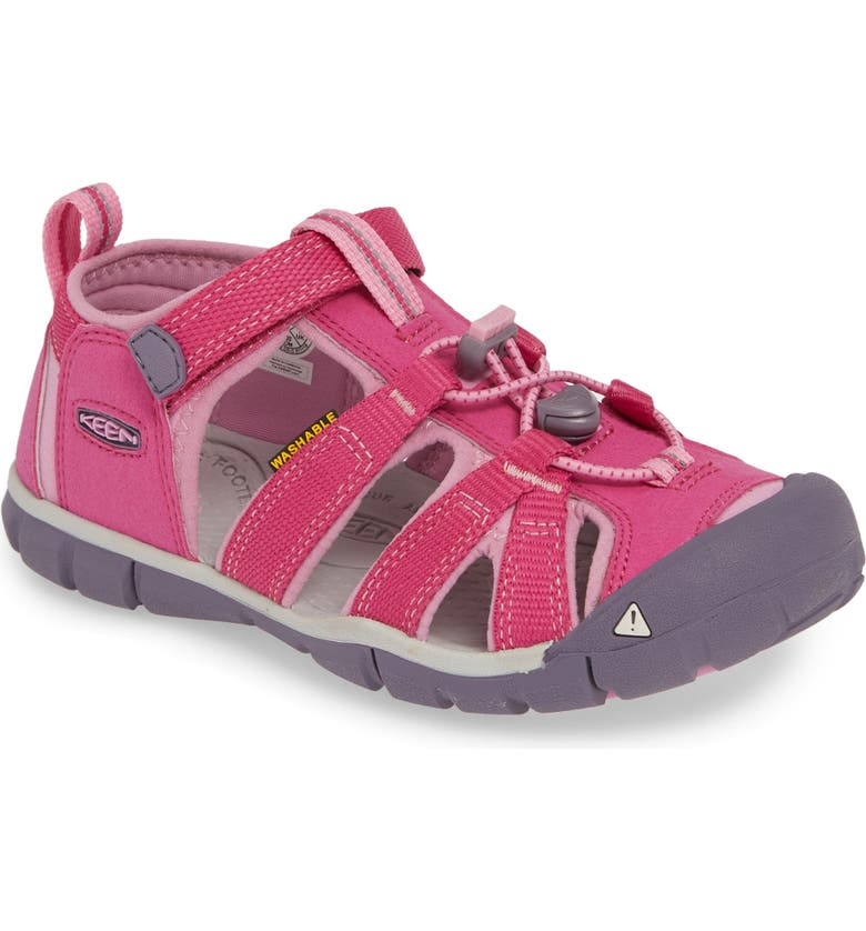 KEEN Seacamp II CNX Water Friendly Sandal, Main, color, VERY BERRY/ LILAC CHIFFON