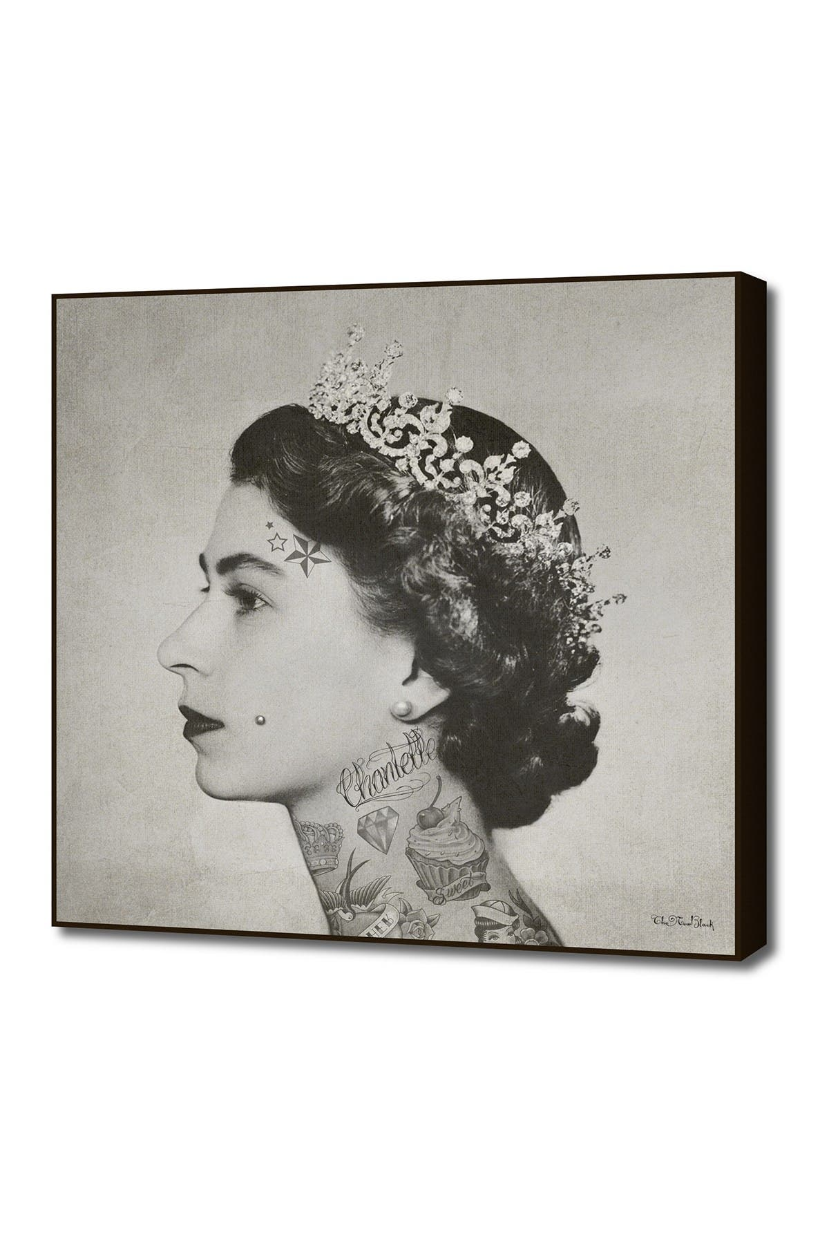Image of Curioos Medium Tattoo Queen By The New Black By Rame