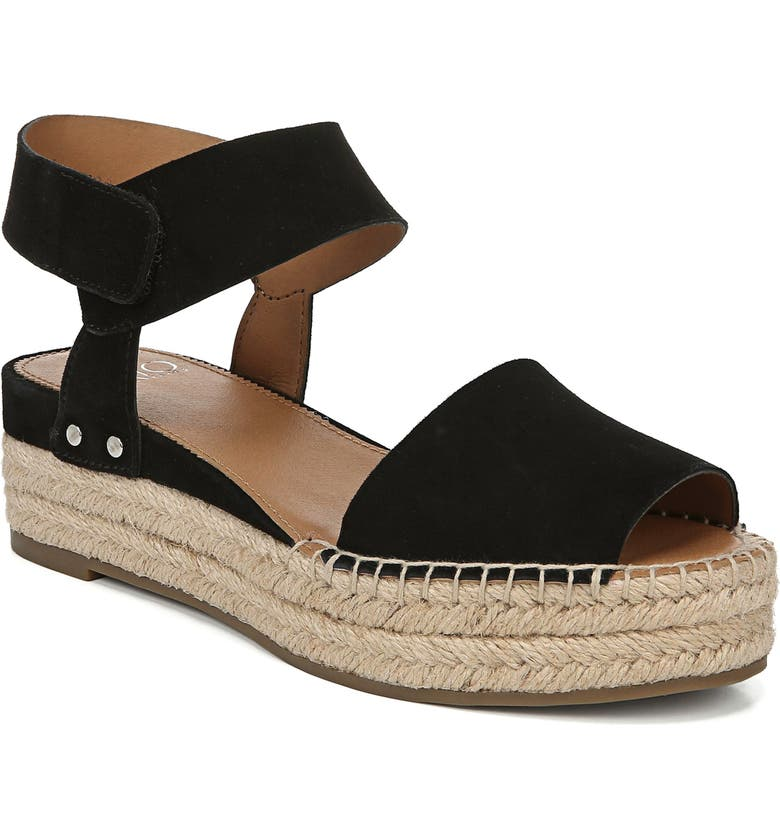 SARTO BY FRANCO SARTO Oak Platform Wedge Espadrille, Main, color, 003