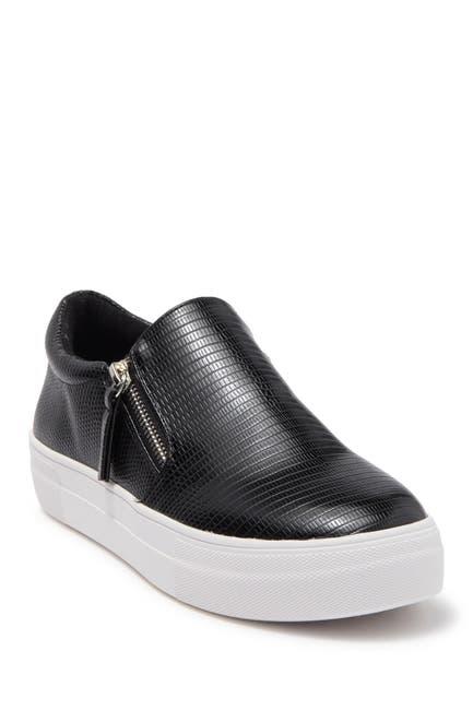 Image of Steve Madden Glaammar Zip Platform Sneaker