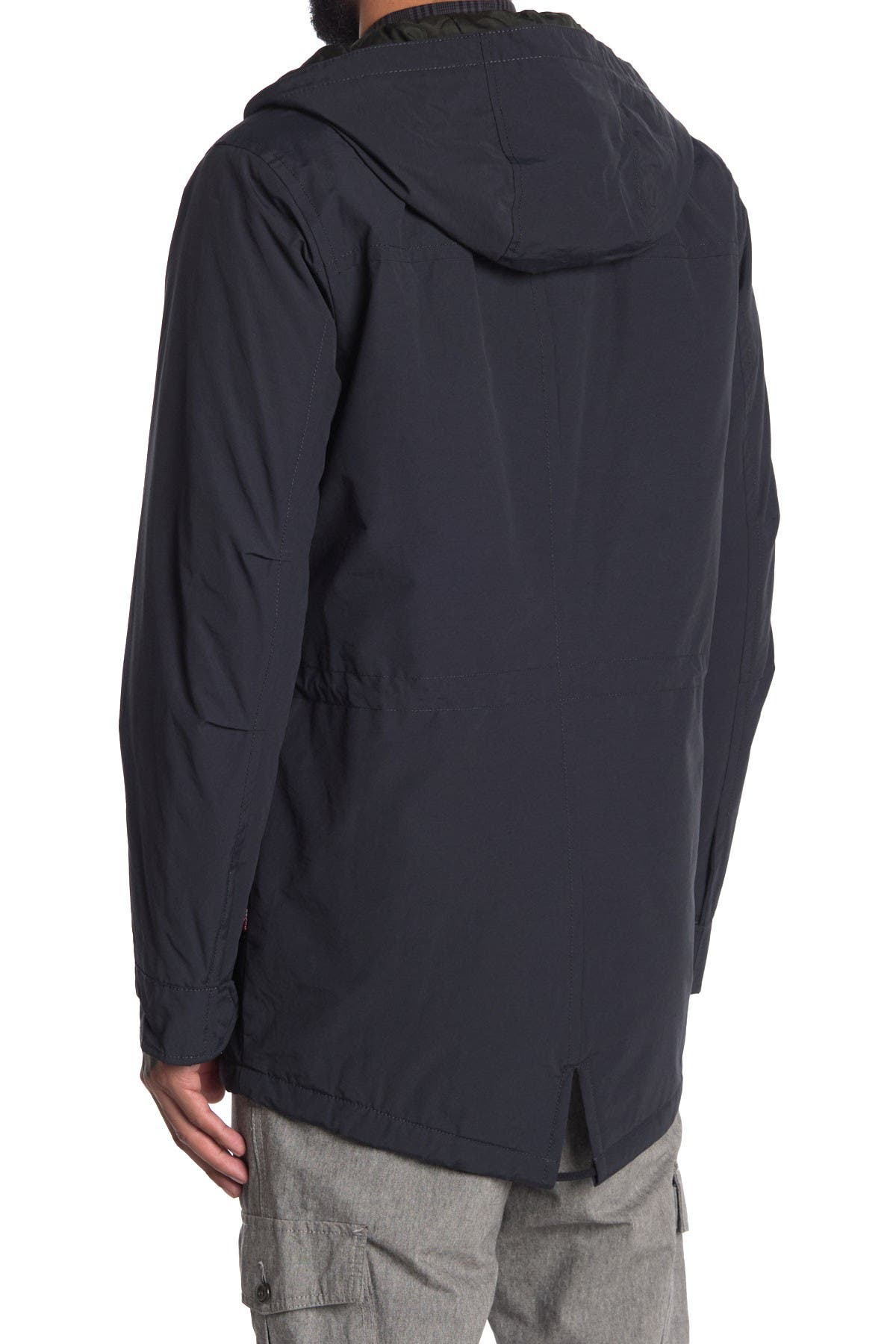 Image of Levi's Fishtail Parka Jacket w/ Quilted Lining