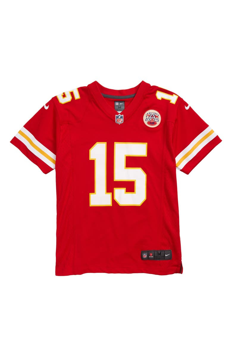 low priced 93318 82a93 Nike NFL Logo Kansas City Chiefs Patrick Mahomes Jersey (Big ...