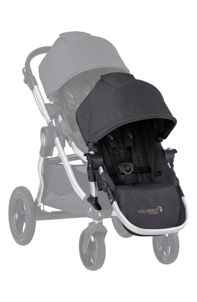 BABY JOGGER City Select<sup>®</sup> Fashion Edition Second Stroller Seat Kit, Main, color, JET