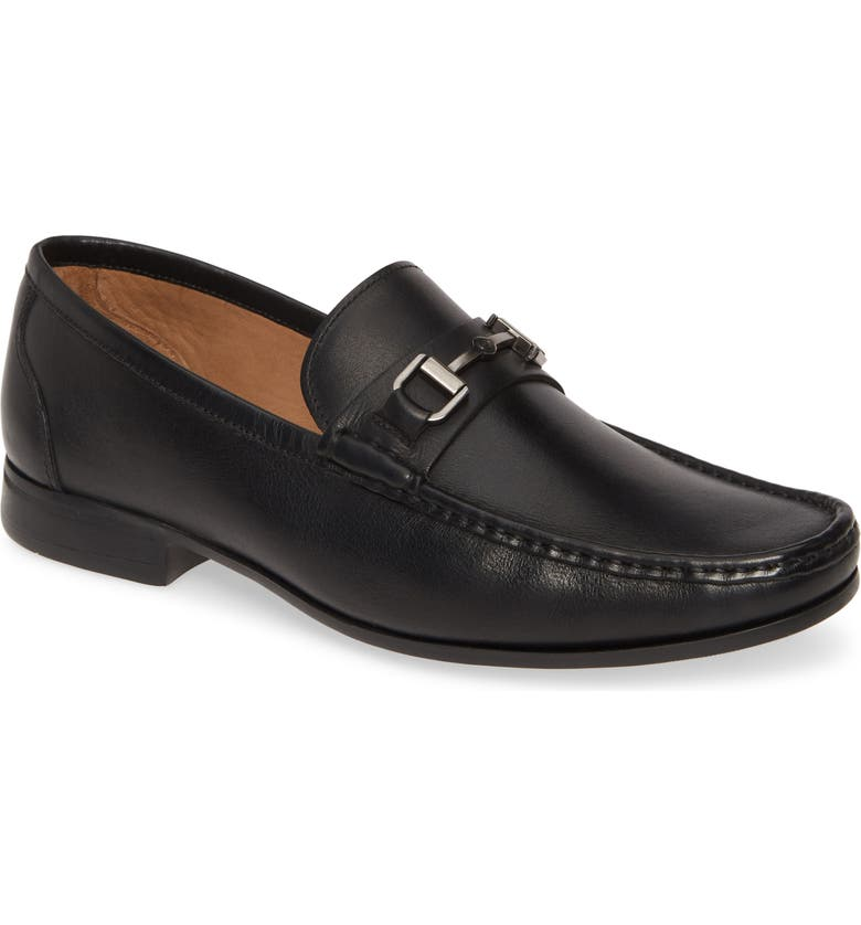 PETER MILLAR Hyperlight Bit Loafer, Main, color, BLACK