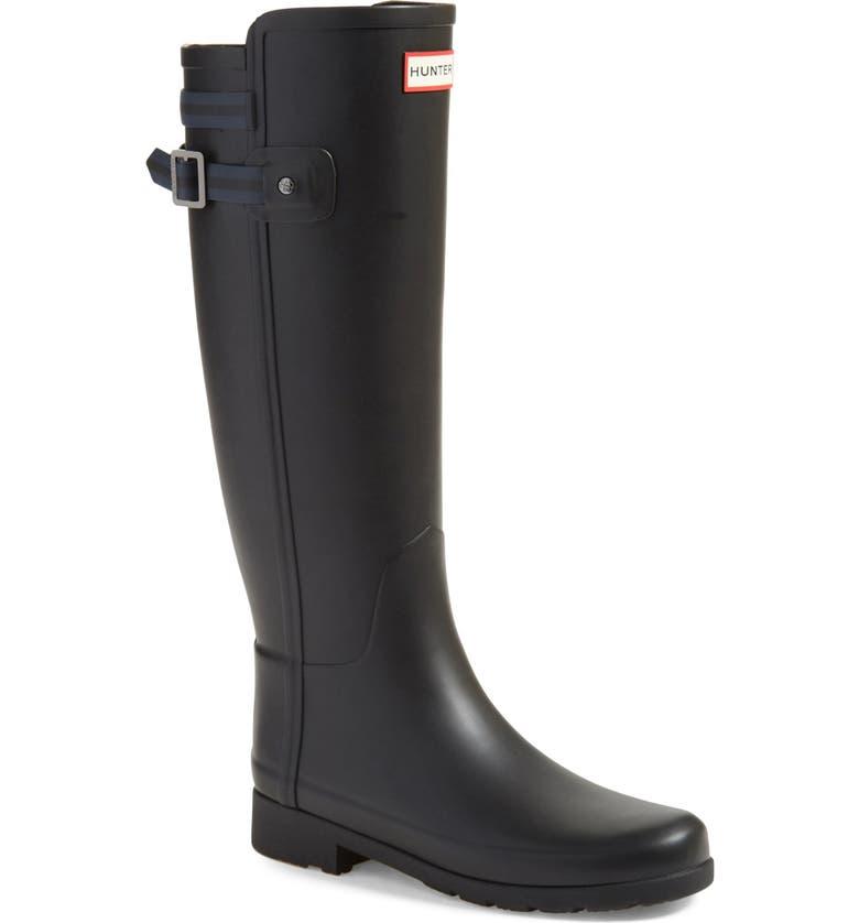HUNTER 'Original Refined' Rain Boot, Main, color, 005