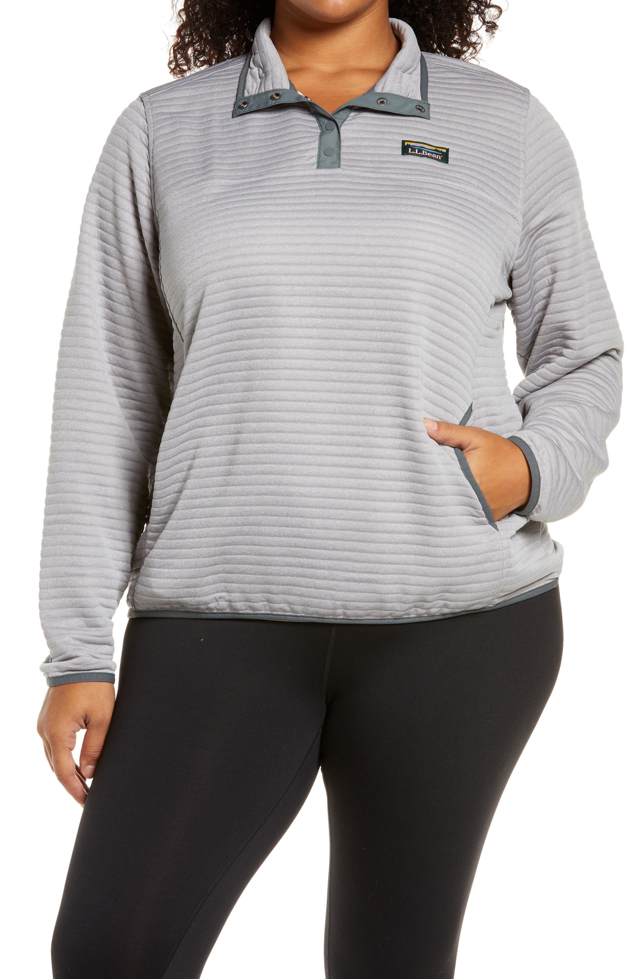 Plus Size Women's L.l. Bean Airlight Knit Pullover