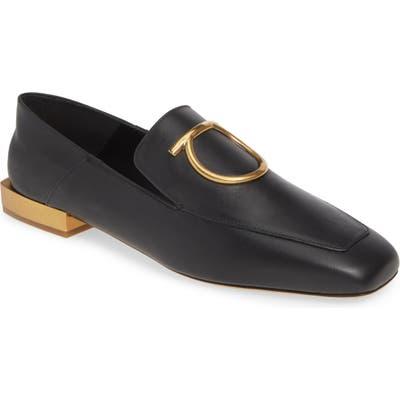 Salvatore Ferragamo Lana Gancio Convertible Loafer B - Black