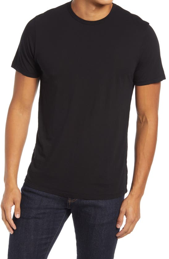 Cotton Citizen Classic Crewneck T-shirt In Jet Black