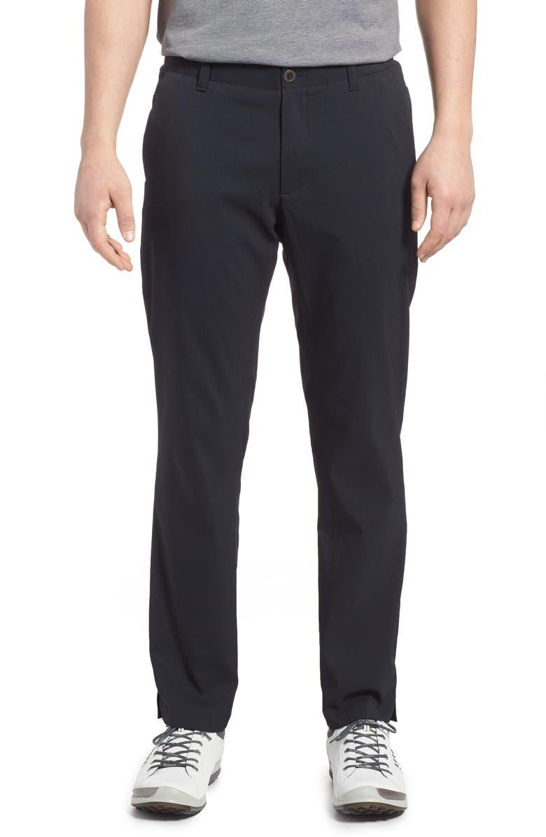UNDER ARMOUR Showdown Pants, Main, color, BLACK