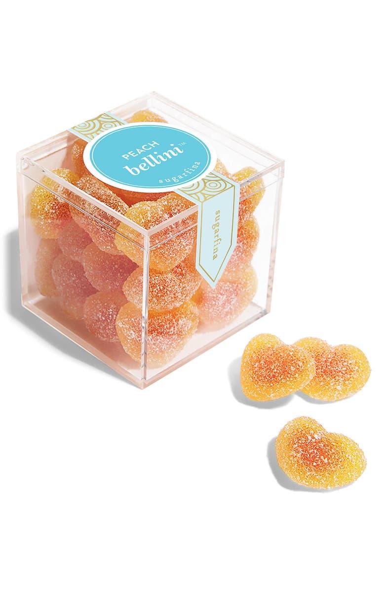SUGARFINA Peach Bellini Small Candy Cube, Main, color, 440