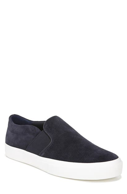 Vince Men's Fenton Coastal Suede Slip-on Sneakers