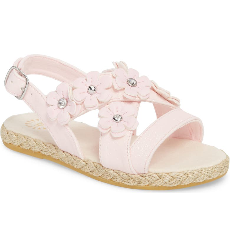 UGG<SUP>®</SUP> Allairey Sparkles Espadrille Sandal, Main, color, 689