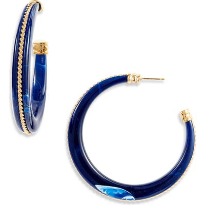 Gas Bijoux Cascade Torsade Hoop Earrings