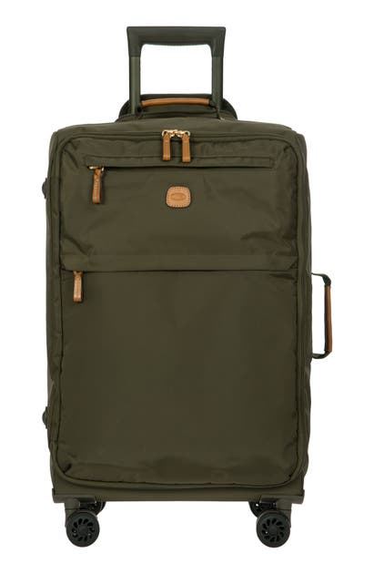 Bric's X-bag 25-inch Spinner Suitcase In Olive