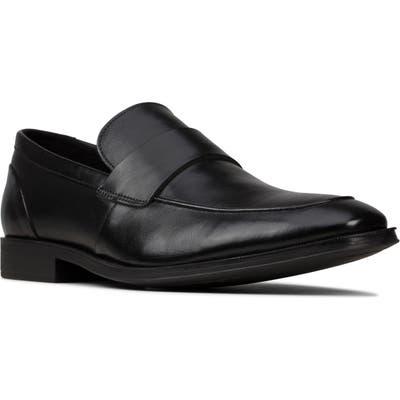 Clarks Gilman Free Venetian Loafer, Black