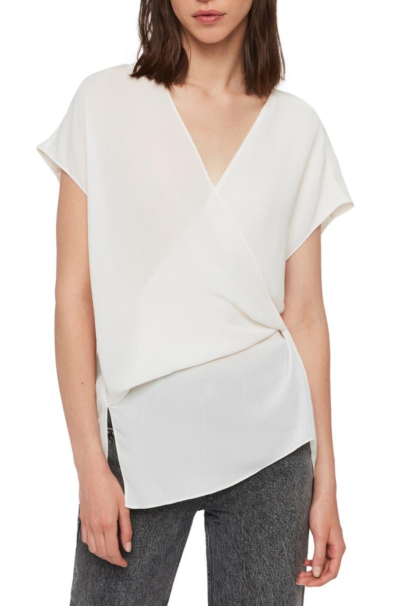 ALLSAINTS Mia Top, Main, color, CHALK WHITE