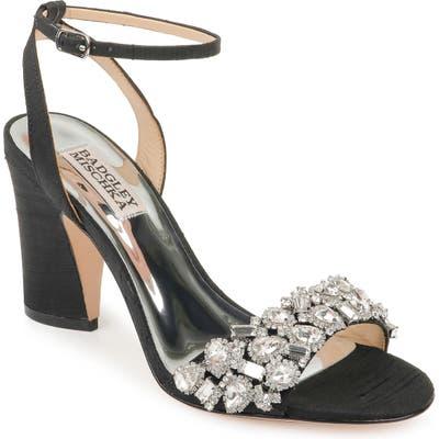 Badgley Mischka Jill Ankle Strap Sandal, Ivory