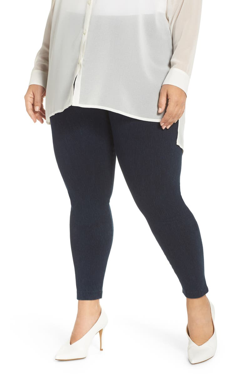 LYSSÉ High Rise Stretch Denim Leggings, Main, color, INDIGO