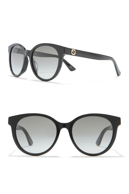 Image of GUCCI 54mm Round Sunglasses