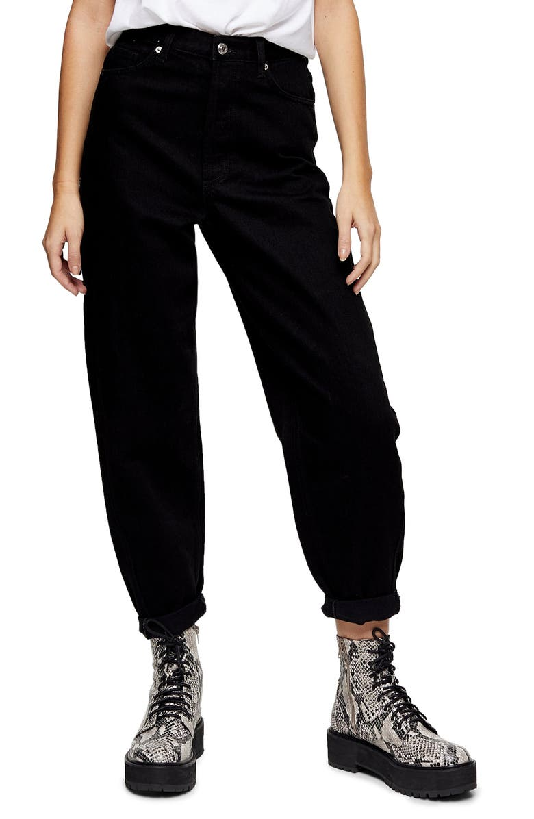 ovoid-high-waist-crop-jeans by topshop