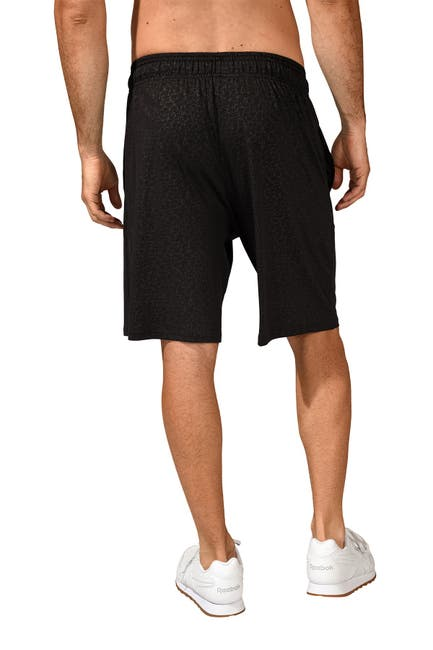 Image of 90 Degree By Reflex Embossed Basketball Shorts