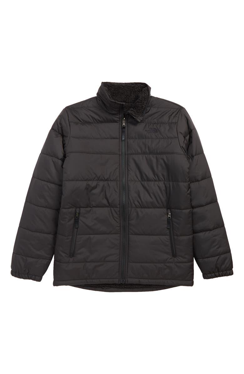 THE NORTH FACE Mount Chimborazo Reversible Jacket, Main, color, TNF BLACK/ TNF BLACK