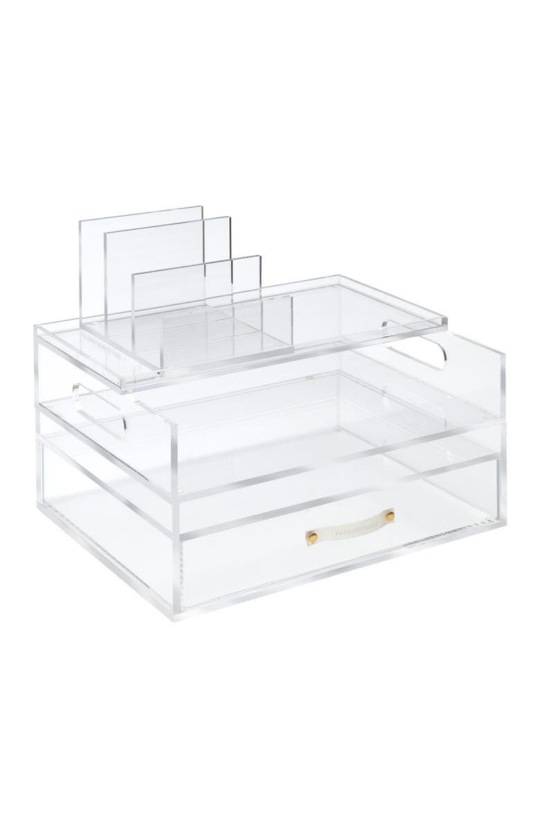 RUSSELL + HAZEL Medium Solution Desk Set, Main, color, CLEAR