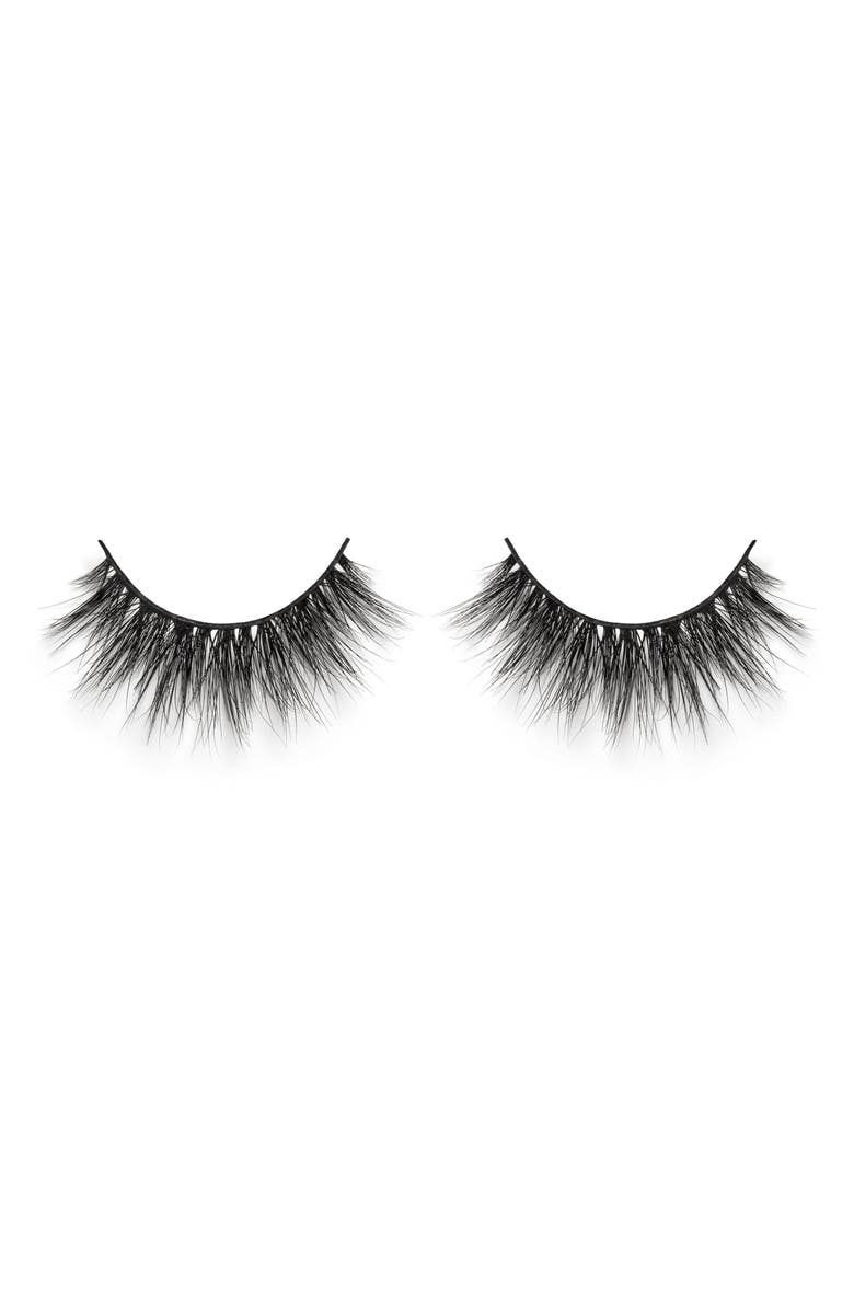 LILLY LASHES Miami 3D Faux Mink False Lashes, Main, color, 000