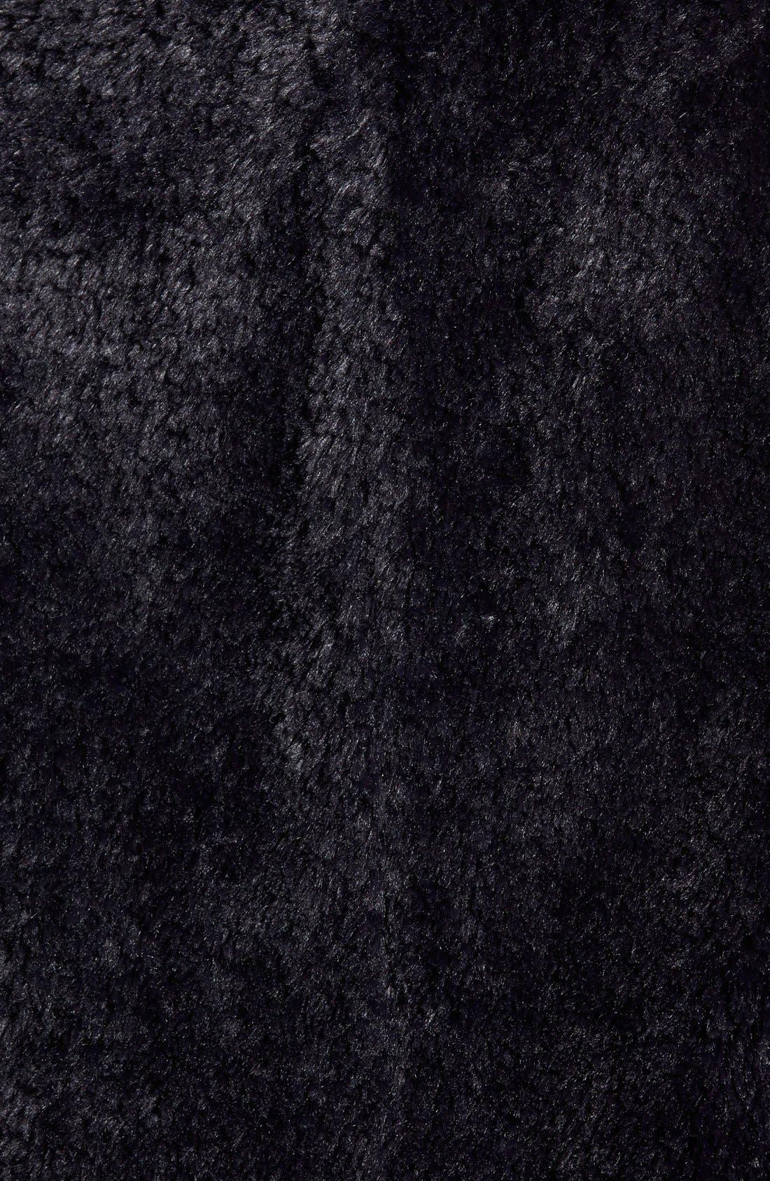 ,                             'Teddy Bear' Faux Fur Clutch Coat,                             Alternate thumbnail 9, color,                             001