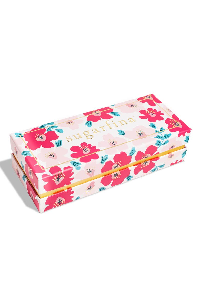 SUGARFINA Floral 3-Piece Candy Bento Box, Main, color, 650