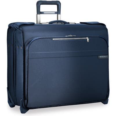 Briggs & Riley Deluxe Wheeled Garment Bag - Blue