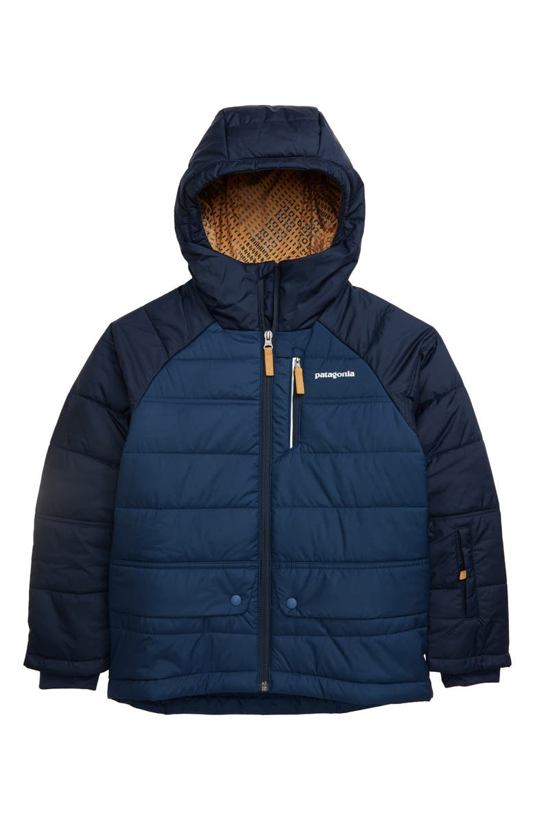 PATAGONIA Pine Grove Hooded Jacket, Main, color, STONE BLUE