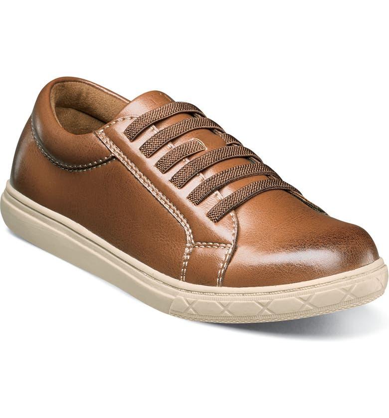 FLORSHEIM Curb Elastic Lace Sneaker, Main, color, 201