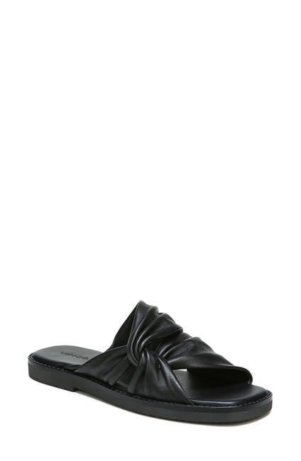Image of Vince Marli Leather Slide Sandal