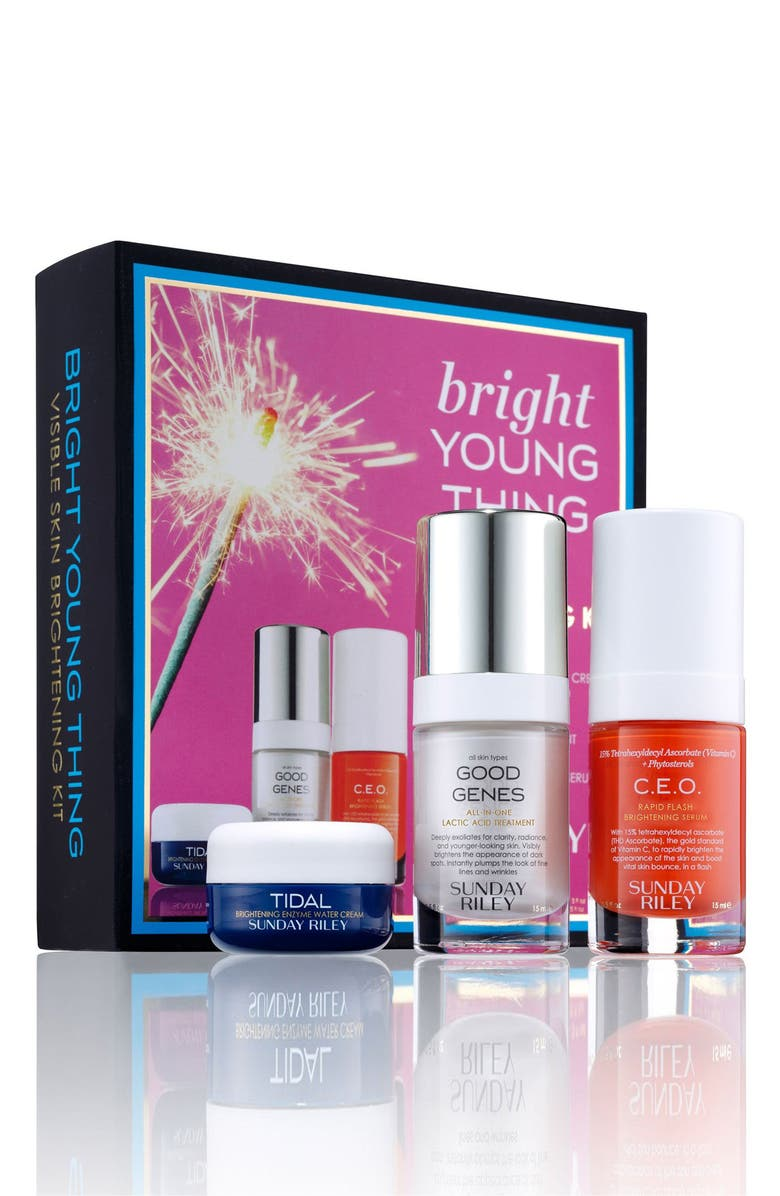 SUNDAY RILEY Bright Young Thing Set, Main, color, NO COLOR