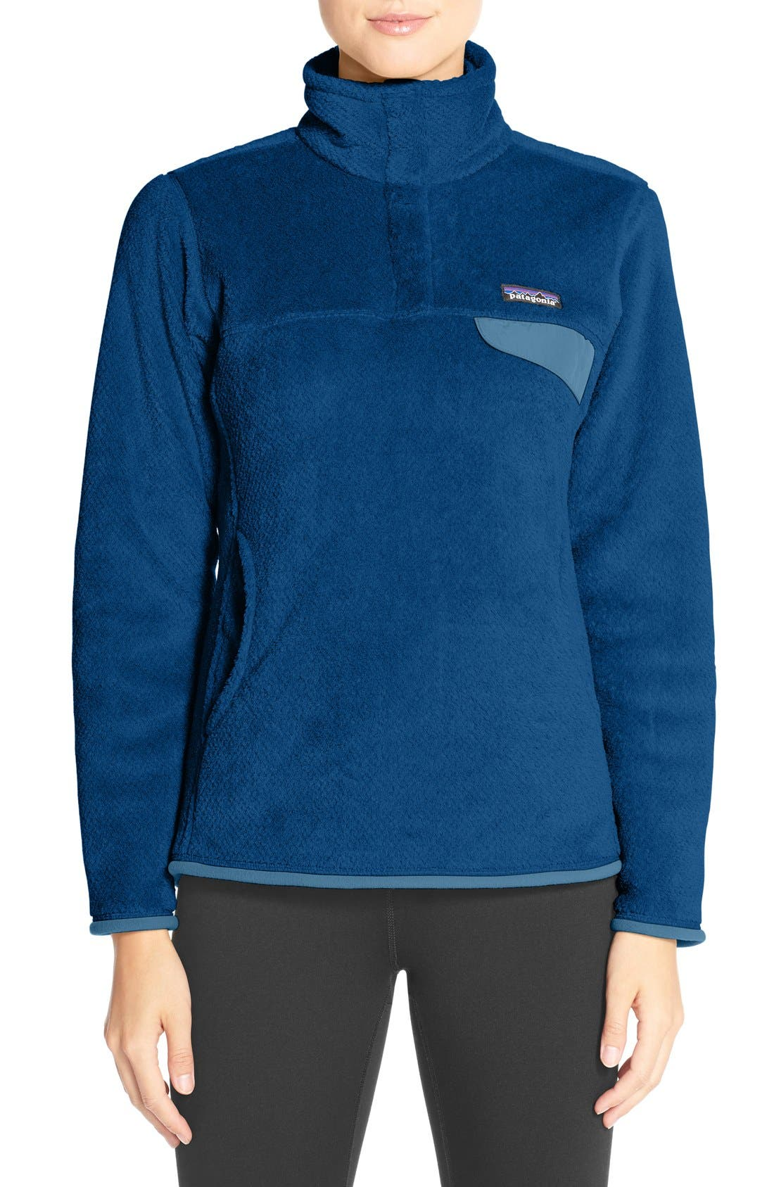 ,                             Re-Tool Snap-T<sup>®</sup> Fleece Pullover,                             Main thumbnail 132, color,                             406