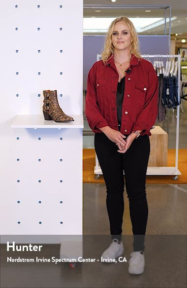 Phoebe Studded Open Bootie, sales video thumbnail