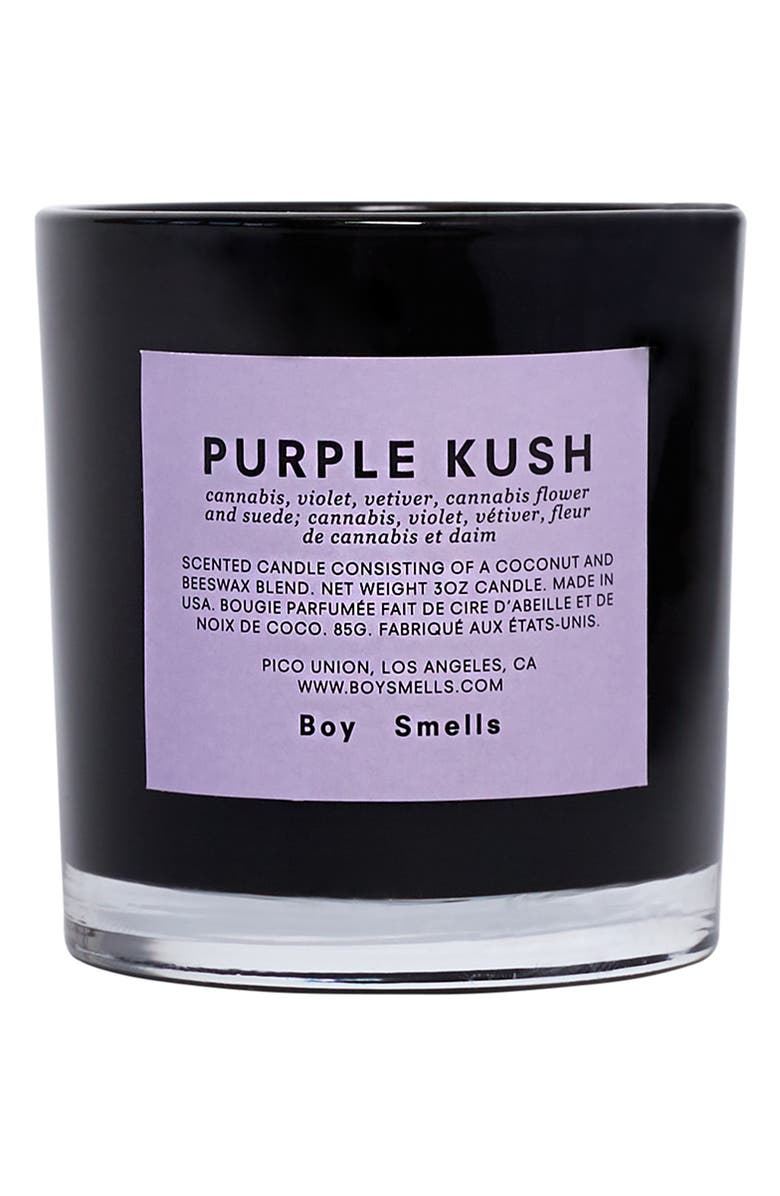 BOY SMELLS Purple Kush Scented Votive Candle, Main, color, PURPLE