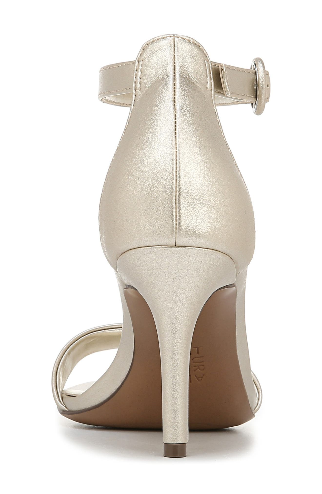 ,                             Kinsley Sandal,                             Alternate thumbnail 7, color,                             CHAMPAGNE FAUX LEATHER