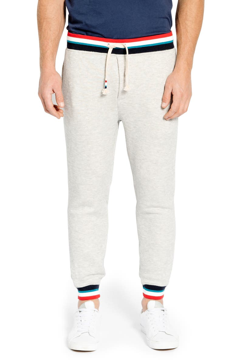SOL ANGELES Sol Flag Roma Sweatpants, Main, color, HEATHER